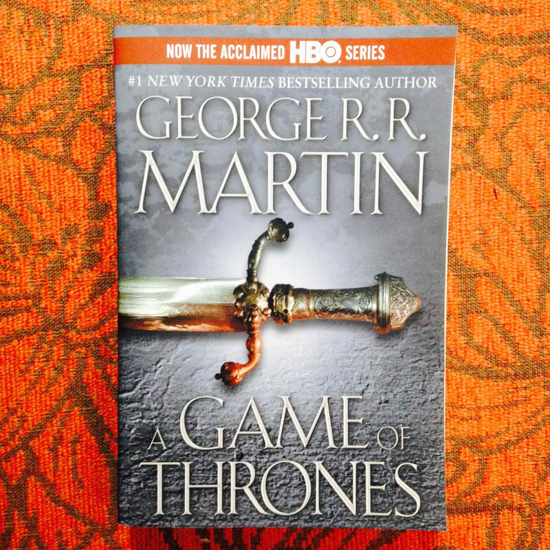 George R.R. Martin.  A GAME OF THRONES.