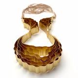 Bosque Collar Mega - Baño de Oro