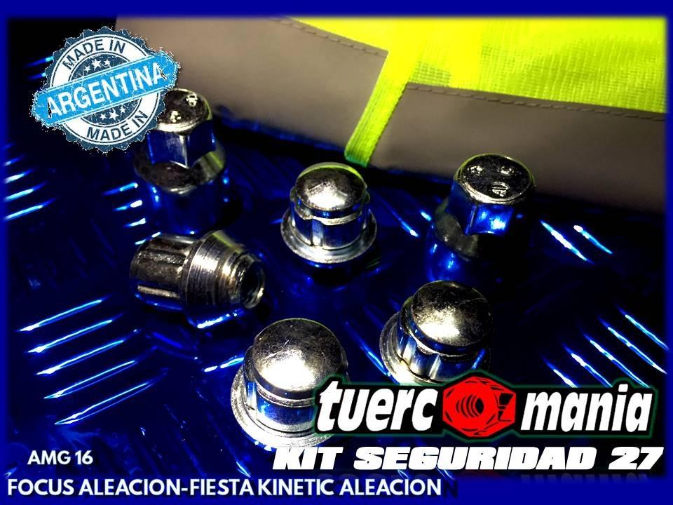 Tuerco Antirrobo Focus Fiesta Kinetic Aleac Kit 27