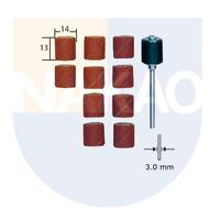 Conjunto de Lixas Cilíndricas 14 X 13 mm c/Suporte - 28978 - Proxxon