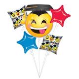 kit 5 gobos egresado emoji desinflados apto helio