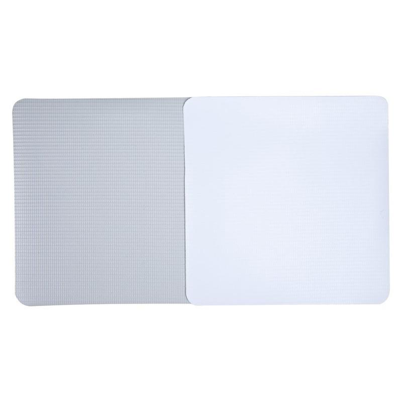 Lona pvc para frontlight Superfront branca brilho avesso cinza (440 g) larg. 1,40 m