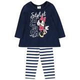 Conjunto Bebê Mini Vestido e Legging Minnie Brandili