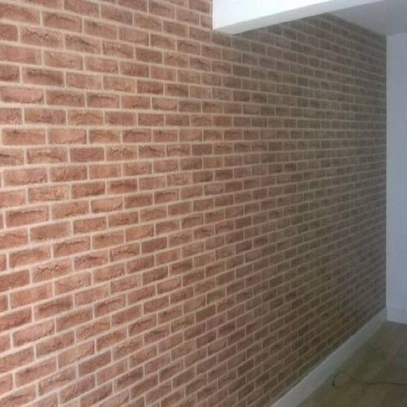 Adesivo para parede tijolos - Decorativo - Larg. 0,90 m