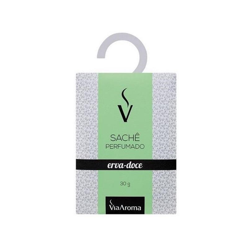 Sache Perfumado - Aroma Erva-Doce - 30g - Via Aroma
