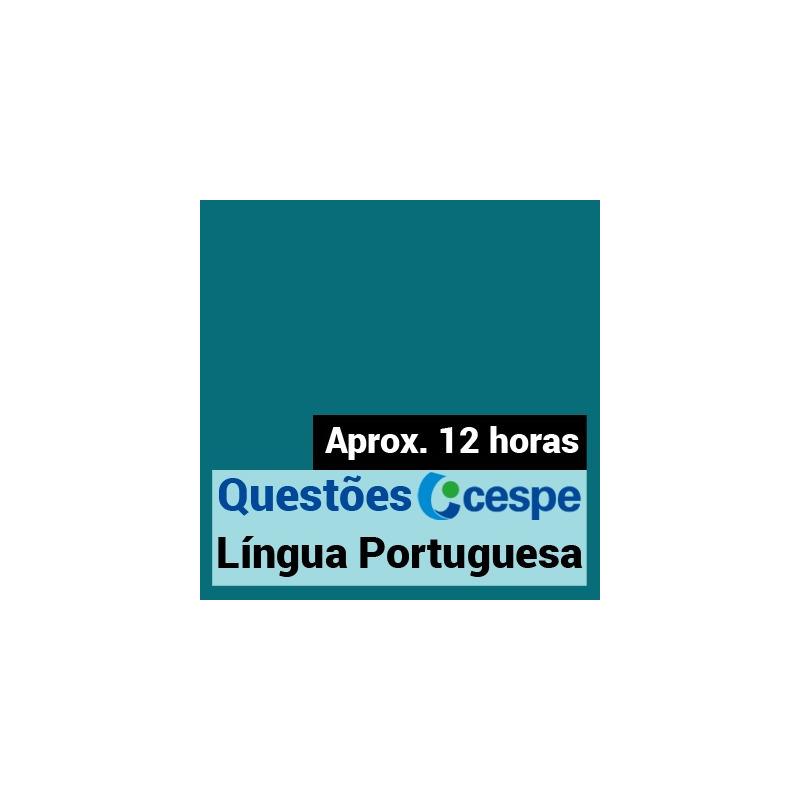 Questões CESPE Língua Portuguesa