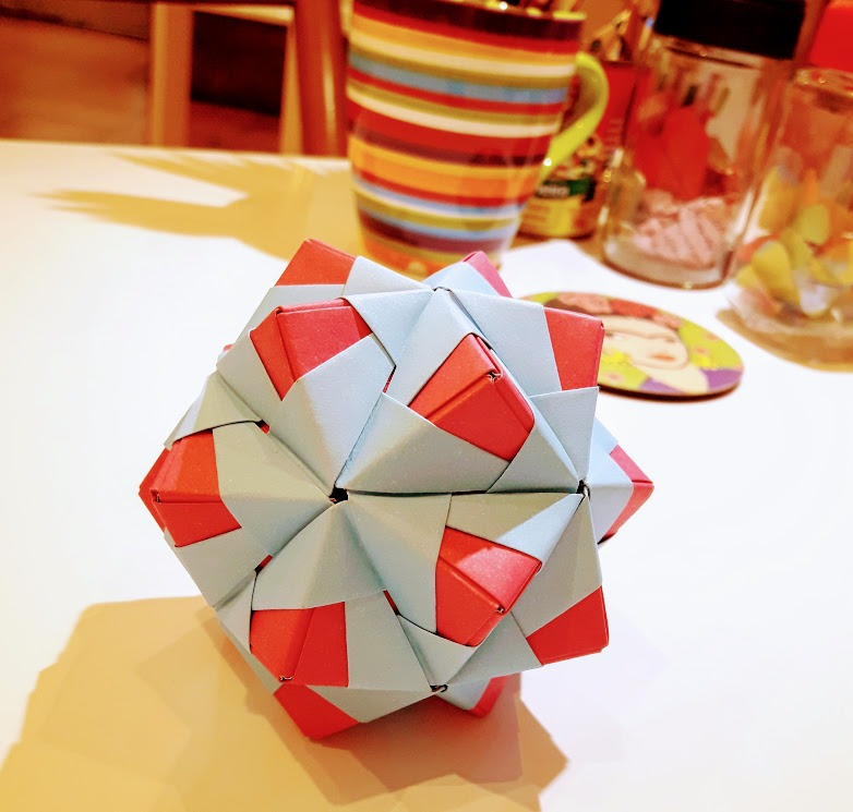 Icosaedro en origami