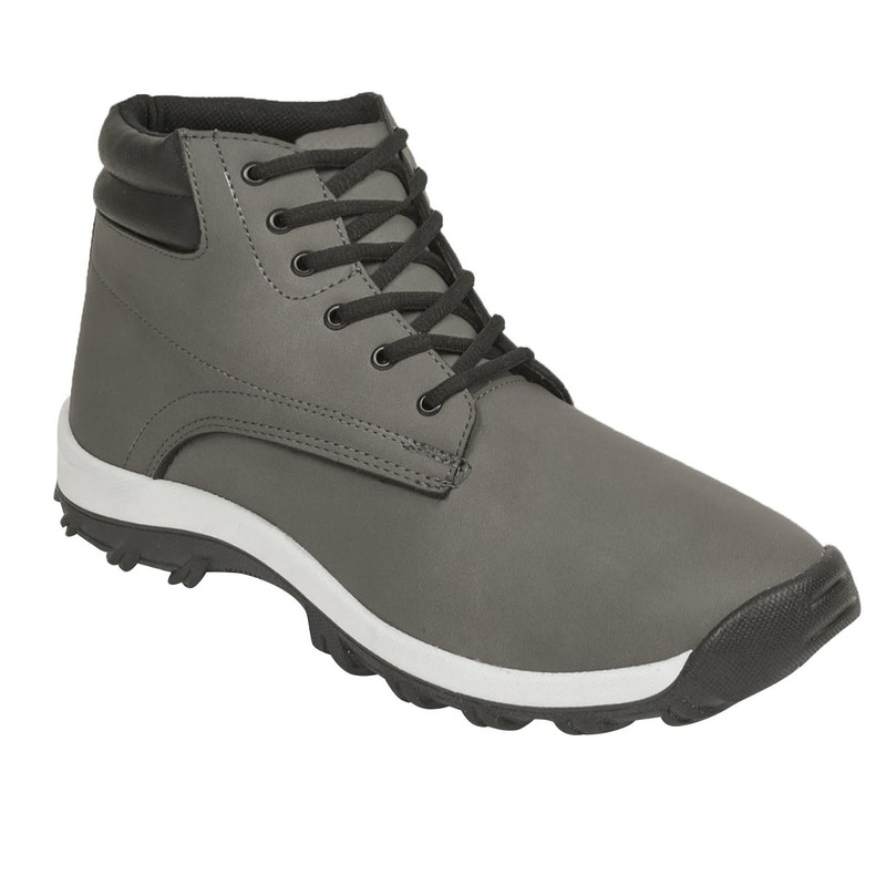 Bota gris multicolor 018601