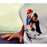 Remera Kong & Mario