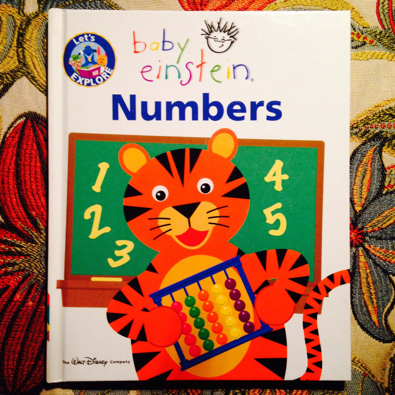 Baby Einstein.  LET'S EXPLORE: NUMBERS.