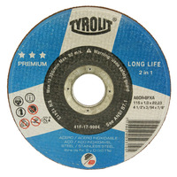 DISCO DE CORTE 115X1.0X22.2 LONG LIFE A60R