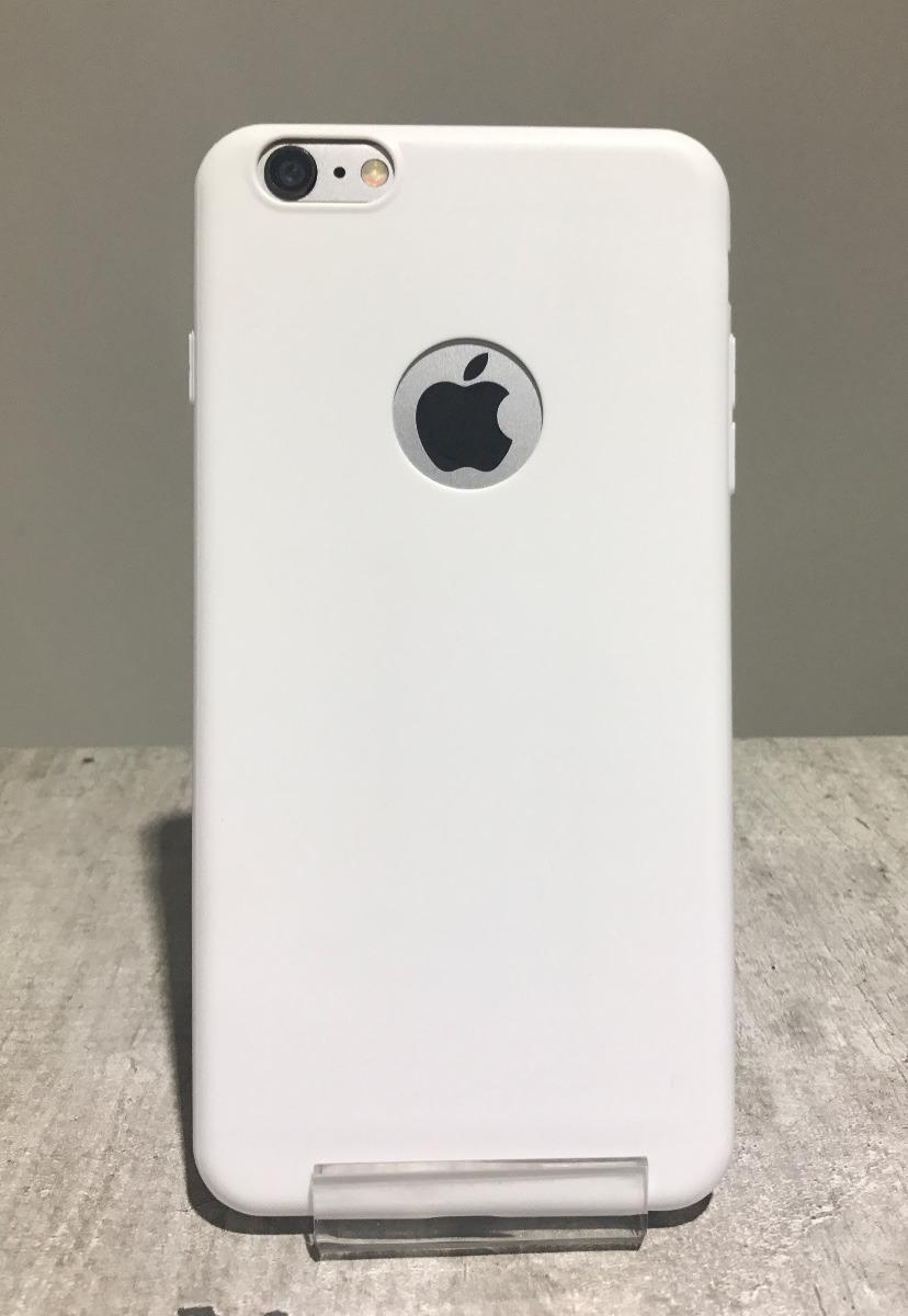 funda iphone 6 blanca silicona