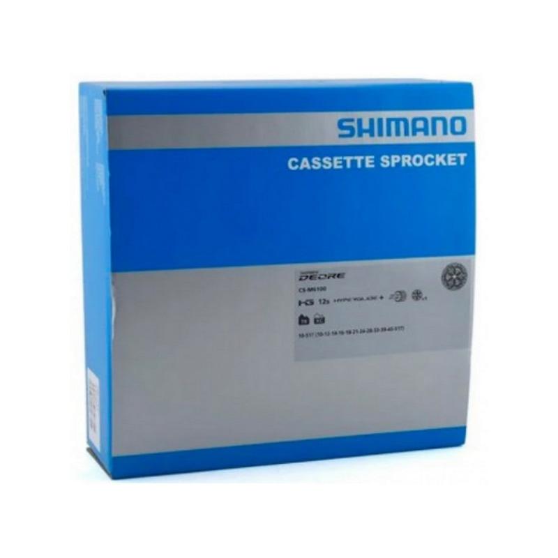 KIT SHIMANO DEORE M6100 1X12V 4 PÇS- CÂMBIO TRASEIRO + ALAVANCA + CASSETE 10/51D (MICRO SPLINE) + CORRENTE 126 ELOS