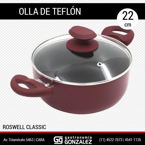 Cacerola de teflon Guadix 24