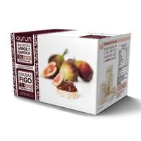 Biscoito Arroz e Tapioca c/ Geleia de Figo - 30g/100g Aurum