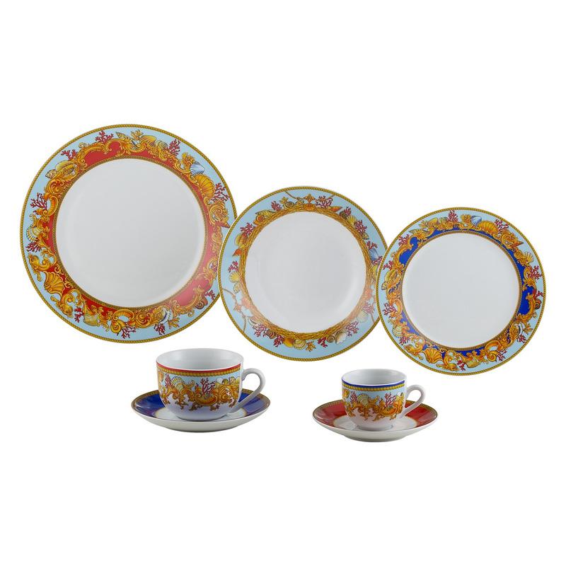 Jogo de Jantar em  Porcelana 42 Peças Baeza-Wolff 31017187