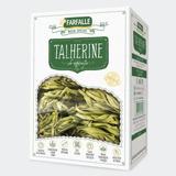 Talherine de Espinafre Grano Durum com Ovos - 500g Farfalle