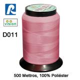 Linha Vision Rosa 100% Poliéster, 300m