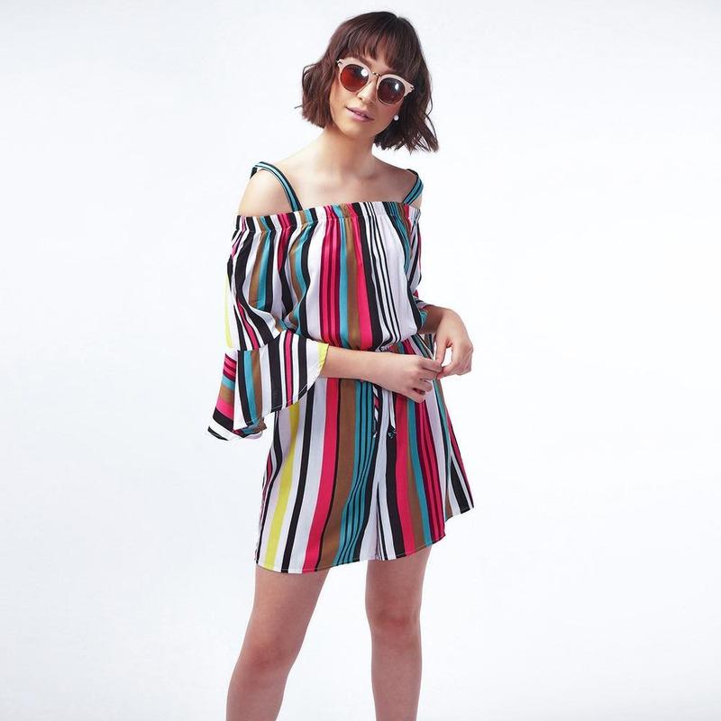Conjunto Multicolor A Lineas 017168