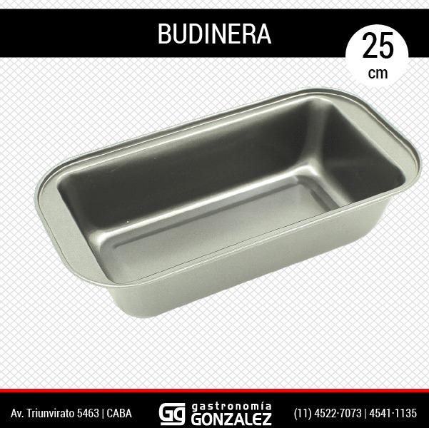 Budinera Metálica 25 cm Bromi