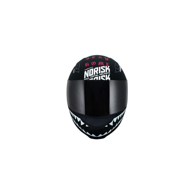 Capacete Norisk FF391 Ride Hard Preto e Rosa