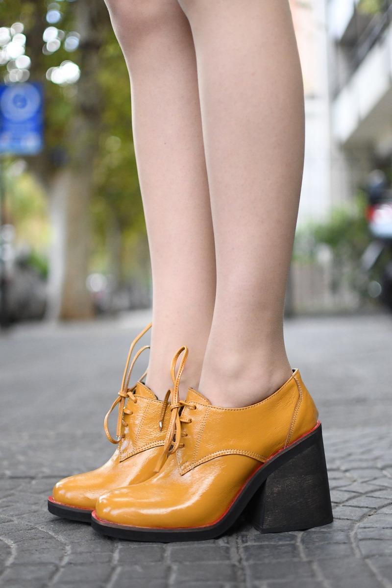 Zapato  Denver 59  Mostaza
