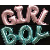 Globo boy girl celeste rosa
