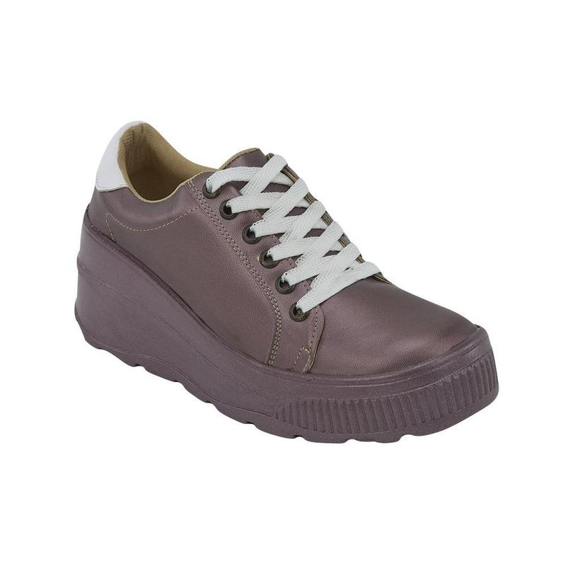 Sneakers Morado Liso 020992