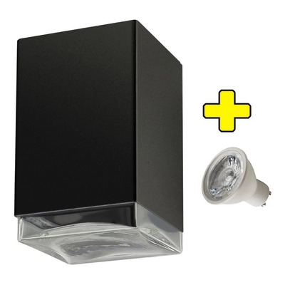 Difusor Exterior Interior Unidireccional Con Led Gu10 7w