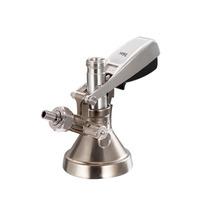 Conector G Talos para Barril Cerveza Artesanal - Acero Inox - Válvula de Alivio