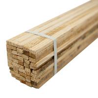 Ripa de madeira para faixa 1,05 x 0,02 x 0,01 m pacote com 50 unidades