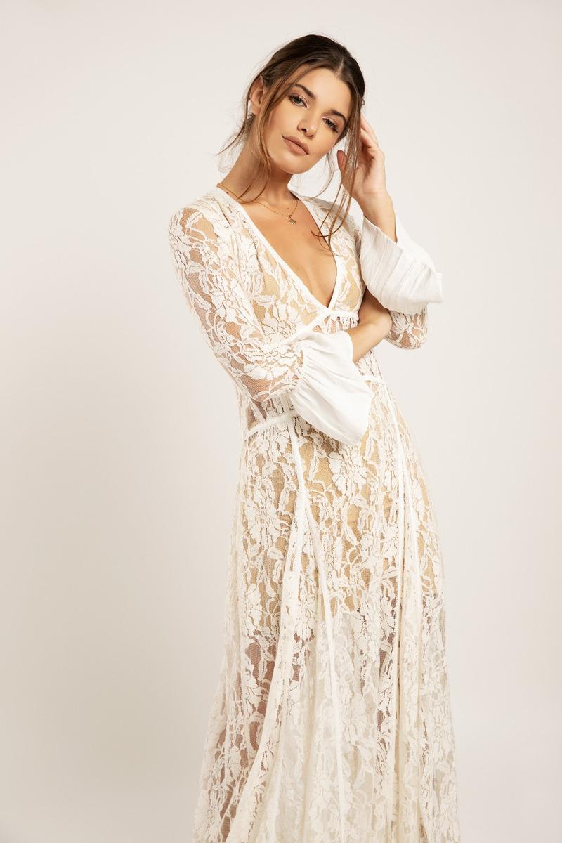Vestido Calla Blanco