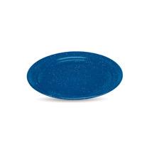 Plato plano 30 azul real nevado  3681989