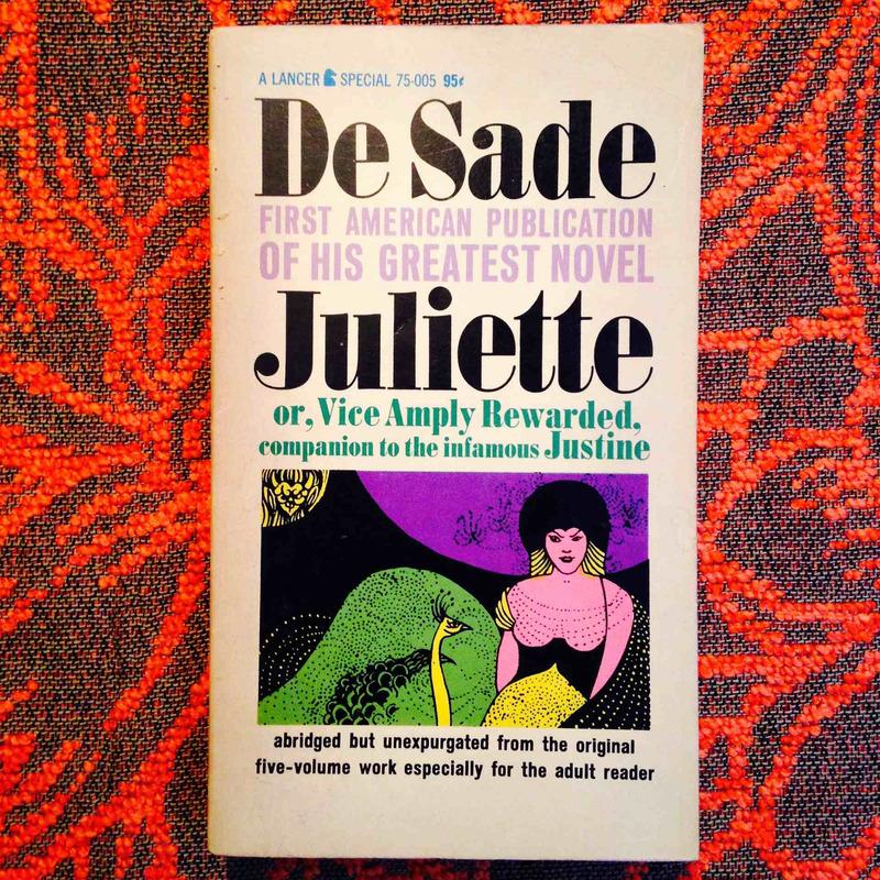 Marquis de Sade.  JULIETTE.