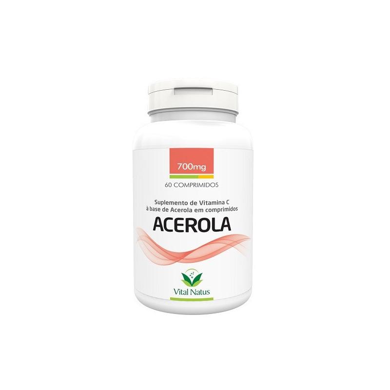 Acerola - 60 Capsulas 700mg - Vital Natus