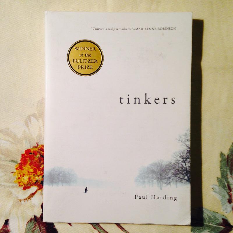 Paul Harding.  TINKERS.
