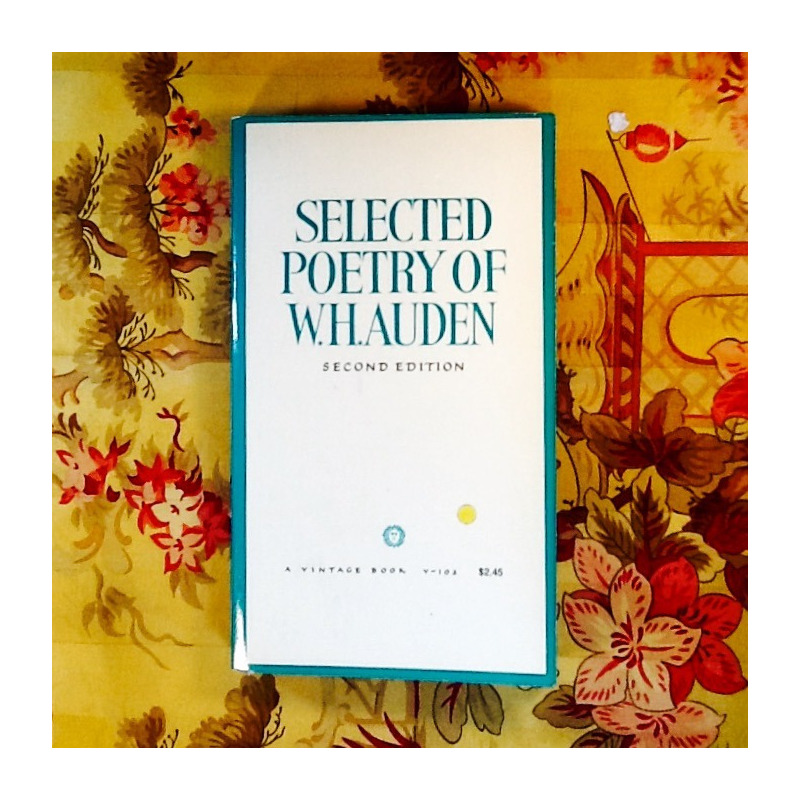 W.H. Auden.  SELECTED POETRY.