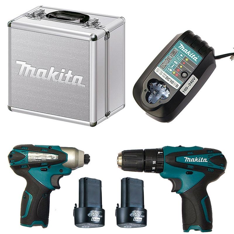 Kit Combo DK1493 Furadeira e Parafusadeira - HP330D+TD090D - Makita