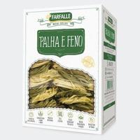 Palha e Feno Grano Durum com Ovos - 500g Farfalle