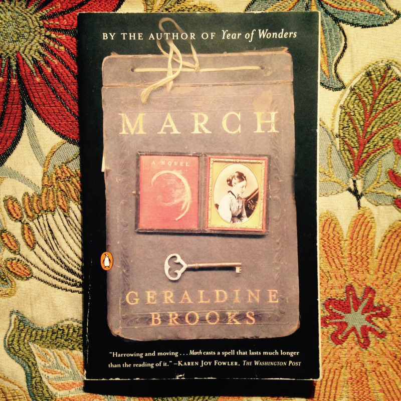Geraldine Brooks.  MARCH.
