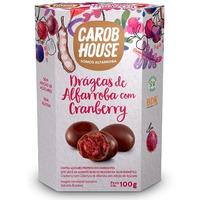 Alfarroba com Cranberry - Cx. 100g - CarobHouse