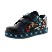 Sneakers Avengers negros con luces T03515