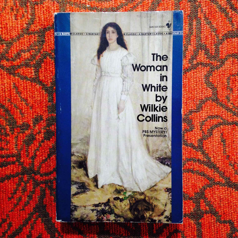 Wilkie Collins.  THE WOMAN IN WHITE.