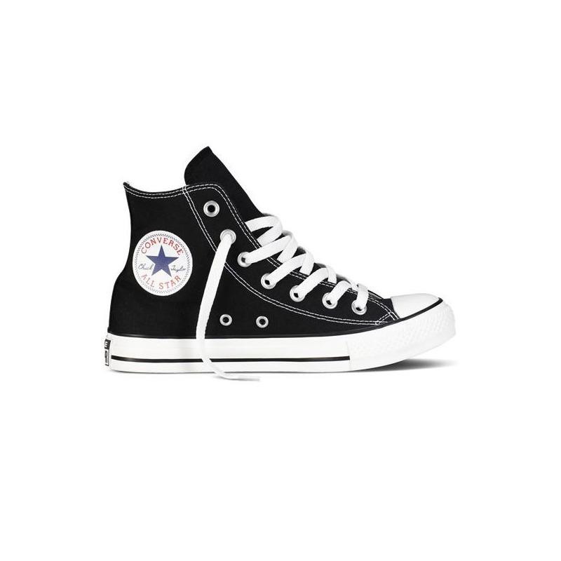 Sneakers Converse negros agujetas VM9160