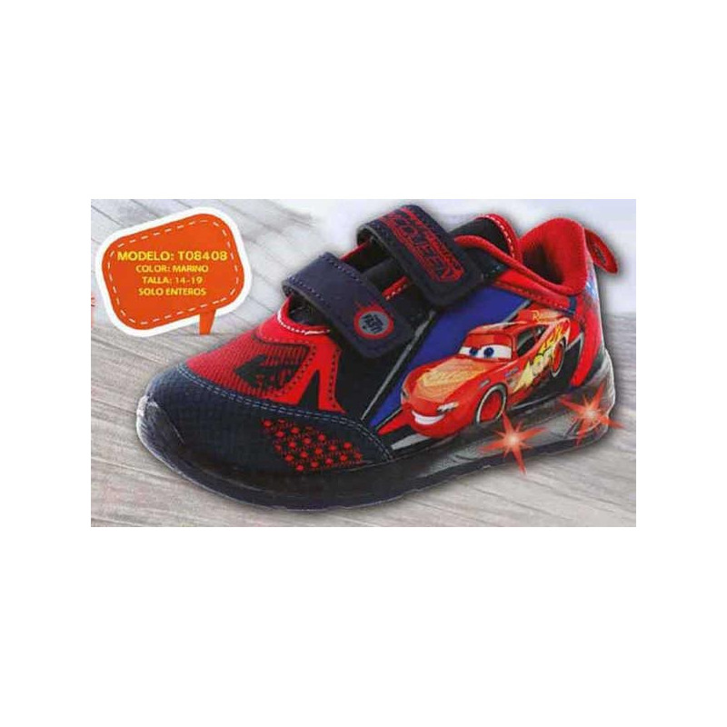 Sneakers Cars con luces T08408