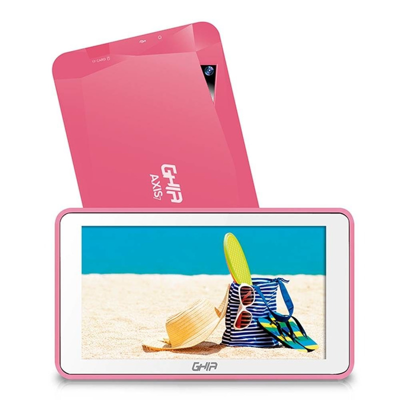 Tablet Ghia Axis7 Wifi T7718ROS Android 7 8Gb Rosa