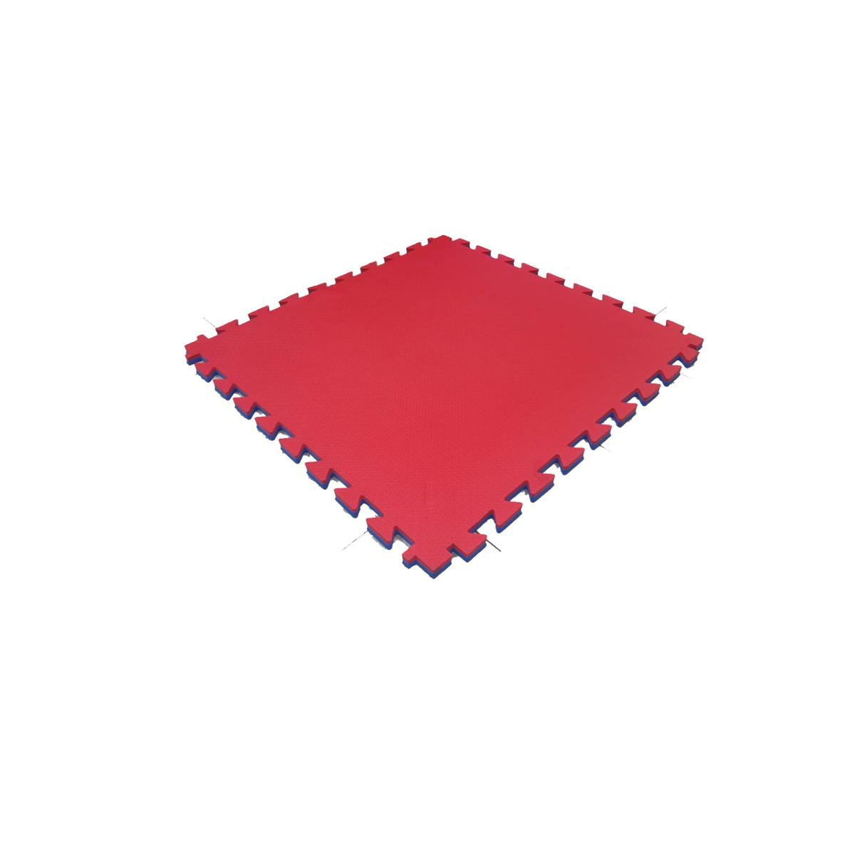 Piso encastrable de 100 cm x 100 cm x 23 mm bicolor