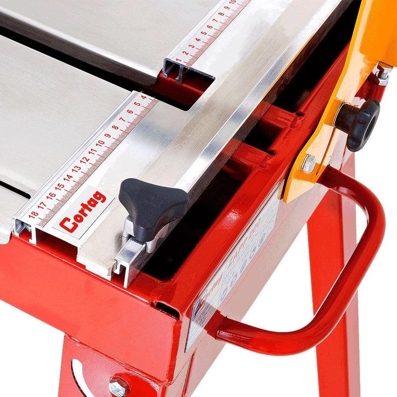 """Cortador de Cerâmica de Bancada 8"""" (200mm) 900 Watts - ZAPP 200 - Cortag - 220 Volts"""