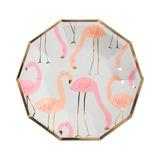 Platos Flamingo Chicos