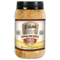 Pasta de Amendoim c/ Banana e Canela c/ Whey 500g El Shaddai